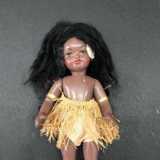 Muñeca española clasica: MUÑECA NEGRA AFRICANA - 24 CM. - UNICA EN TODOCOLECCION - NO EN ORIENTAPRECIOS. Lote 116107411