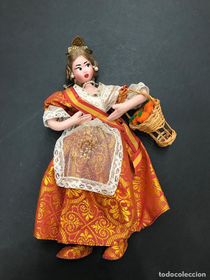 MUÑECA VALENCIANA CON NARANJAS - VALENCIA - 30 CM. (Juguetes - Otras Muñecas Españolas Clásicas (Hasta 1.960))