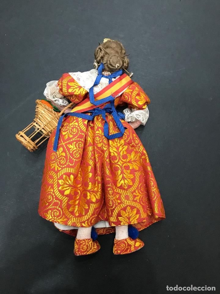 Muñeca española clasica: MUÑECA VALENCIANA CON NARANJAS - VALENCIA - 30 CM. - Foto 2 - 116109791