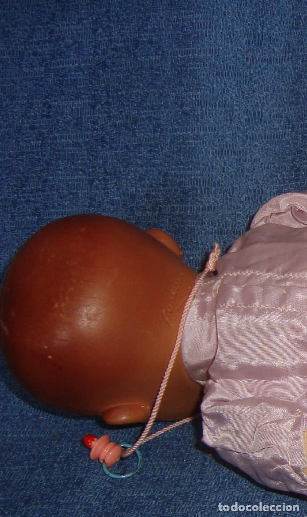 Muñeca española clasica: MUÑECA CABEZA DE COMPOSICION O BARRO, CUERPO DE TELA Y SERRIN - Foto 5 - 116390999