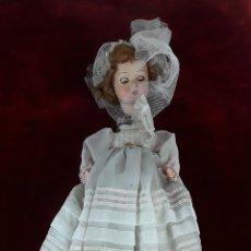 Muñeca española clasica: MUÑECA DE PAPEL MACHÉ PARA RESTAURAR. S. XX.. Lote 117270851