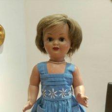 Muñeca española clasica: PRECIOSA MUÑECA MARICELA. IDEAL BEBE MOLINA '40/'50. FABRICADA POR SANTIAGO MOLINA.. Lote 117993732