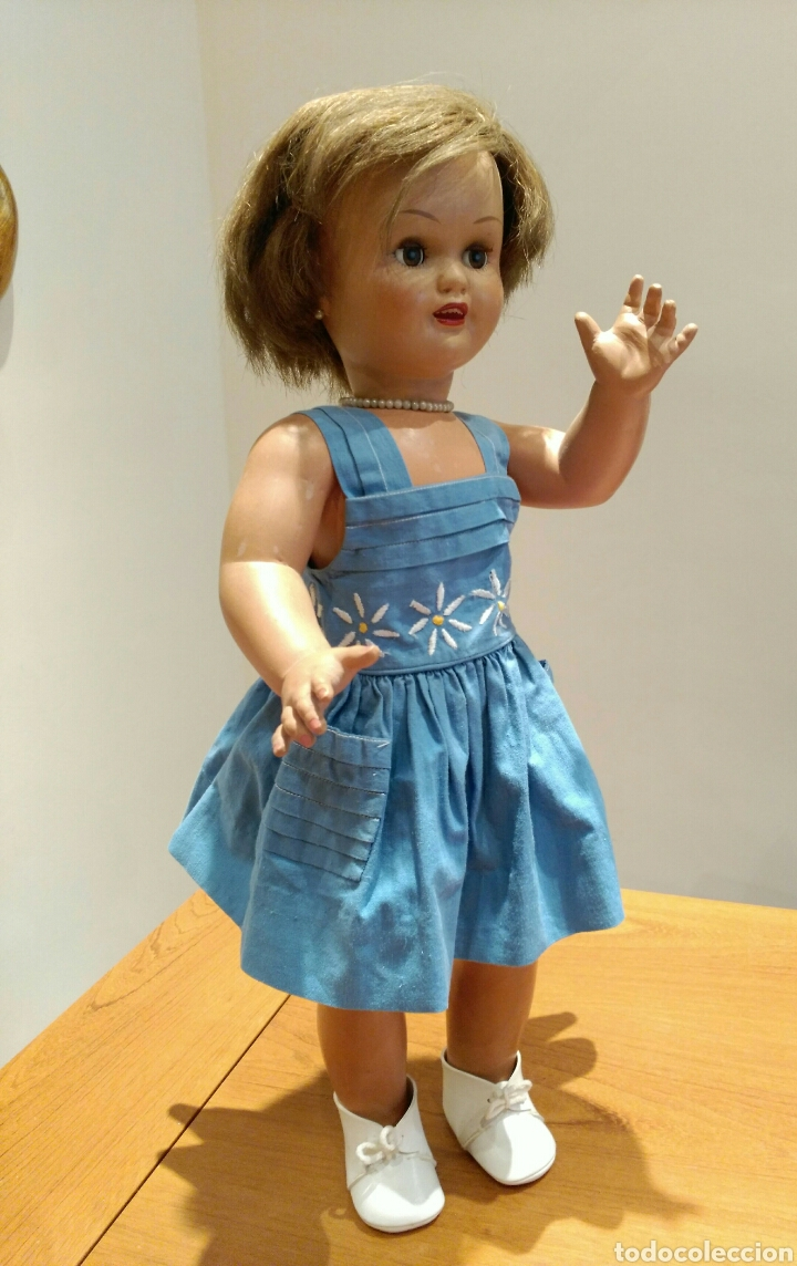 Muñeca española clasica: PRECIOSA MUÑECA MARICELA. IDEAL BEBE MOLINA '40/'50. Fabricada por Santiago Molina. - Foto 6 - 117993732