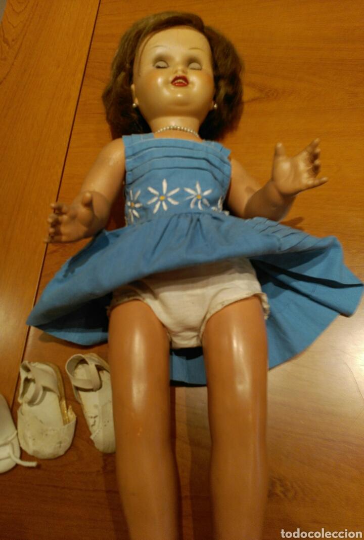Muñeca española clasica: PRECIOSA MUÑECA MARICELA. IDEAL BEBE MOLINA '40/'50. Fabricada por Santiago Molina. - Foto 17 - 117993732