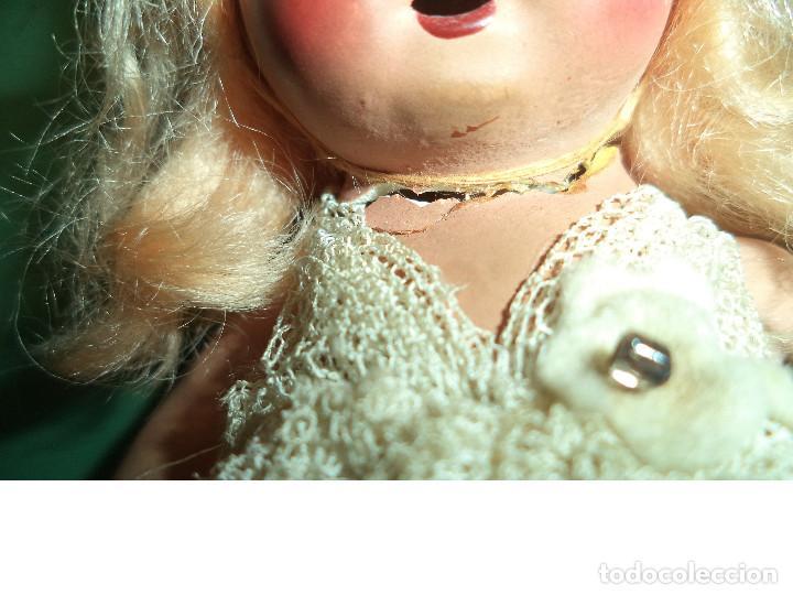 Muñeca española clasica: MUÑECA TERRACOTA 13 CMS Y UN VESTIDO - Foto 3 - 118286627