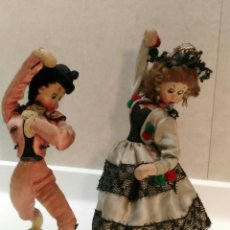 Muñeca española clasica: PAREJA GOYESCA KLUMPE. Lote 118597467