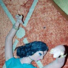 Muñeca española clasica: ANTIGUA MUÑECA GITANA FLAMENCA DE BARRO. Lote 119130243