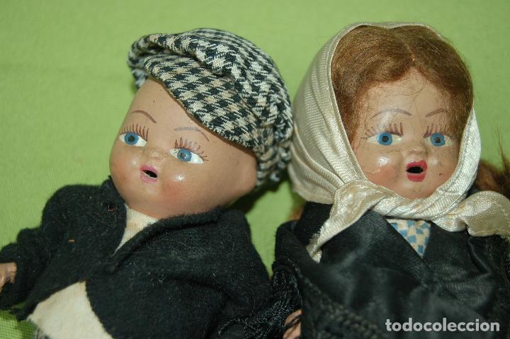 Muñeca española clasica: pareja de madrileños en terracota de denia - Foto 2 - 119503755