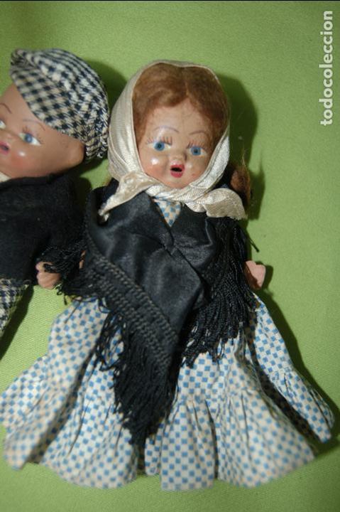 Muñeca española clasica: pareja de madrileños en terracota de denia - Foto 4 - 119503755