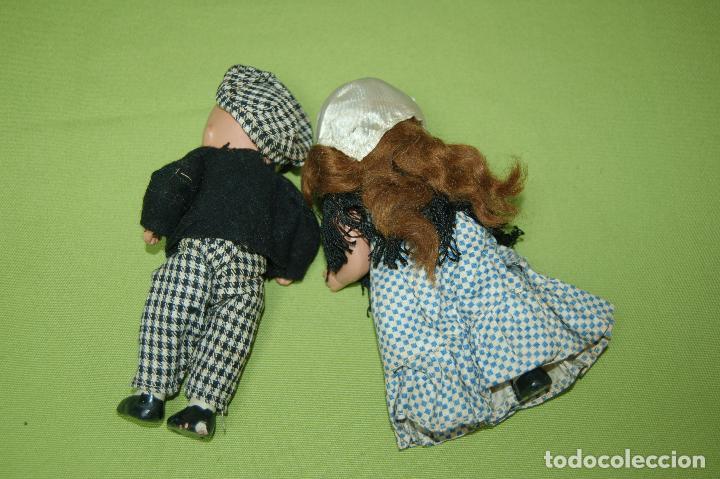Muñeca española clasica: pareja de madrileños en terracota de denia - Foto 6 - 119503755