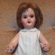 Muñeca española clasica: MARY CRIS O MARI CRIS,QUE EMPUJABA CARRITO CON BEBÉ,AÑOS 40 Ó 50. Lote 119971423