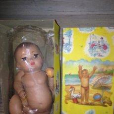 Muñeca española clasica: MUÑECO PELON 1940-50 ORIGINAL. Lote 57052840