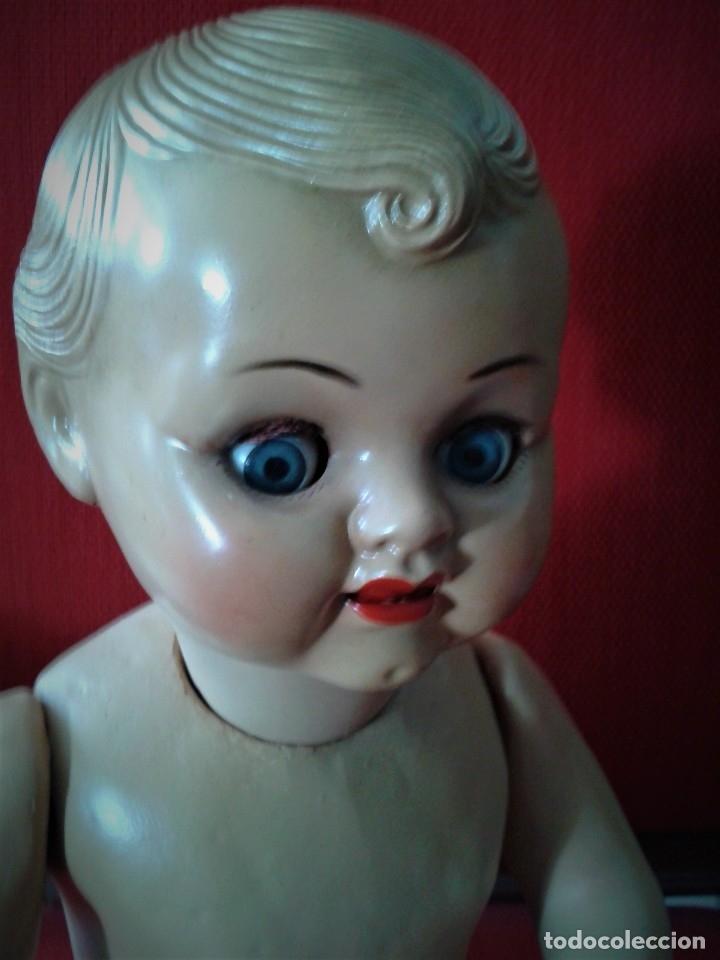 Muñeca española clasica: PRECIOSO BEBE PEPIN ,TAMAÑO GRANDE ,MARCADO EN LA NUCA ,AÑOS 40 - Foto 2 - 122861603