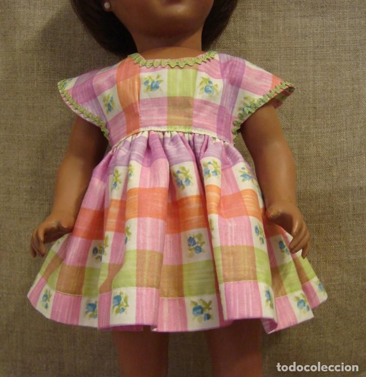 Vestido Para Muñeca Años 1950