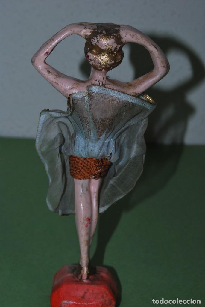 Muñeca española clasica: PRECIOSA MUÑECA DE CERA - BAILARINA - CABARET - AÑOS 20 - Foto 3 - 124607367