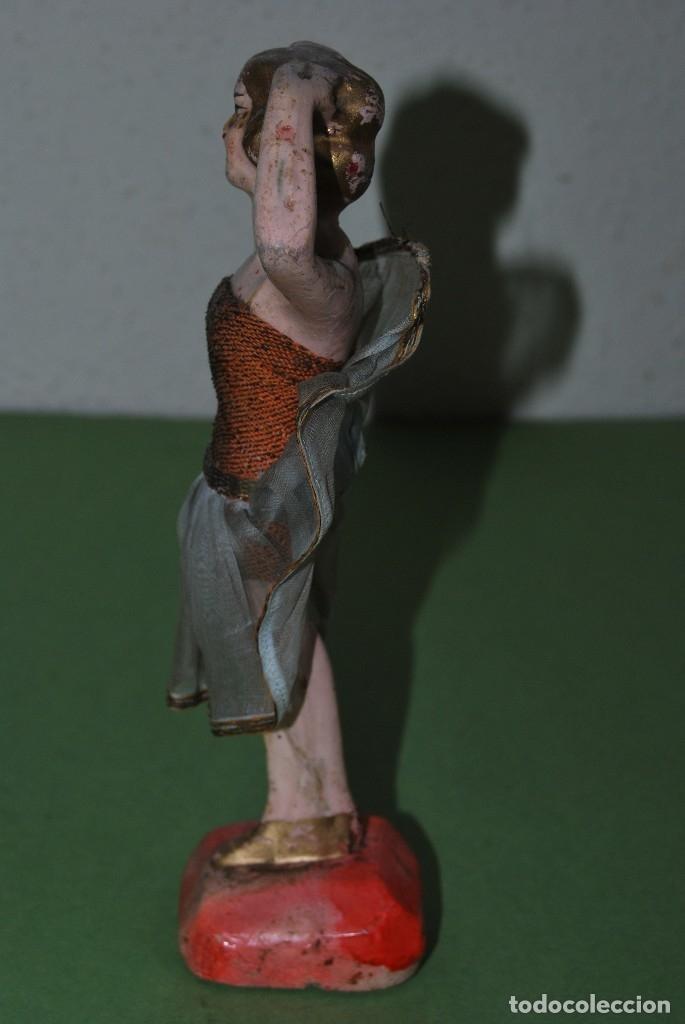 Muñeca española clasica: PRECIOSA MUÑECA DE CERA - BAILARINA - CABARET - AÑOS 20 - Foto 4 - 124607367
