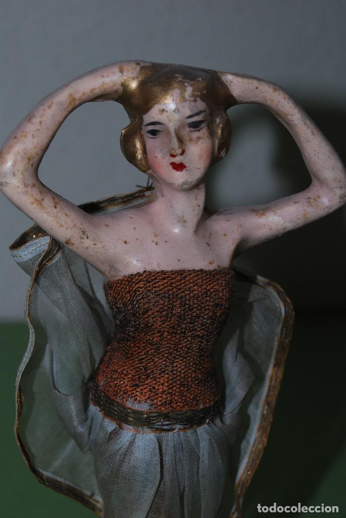 Muñeca española clasica: PRECIOSA MUÑECA DE CERA - BAILARINA - CABARET - AÑOS 20 - Foto 5 - 124607367