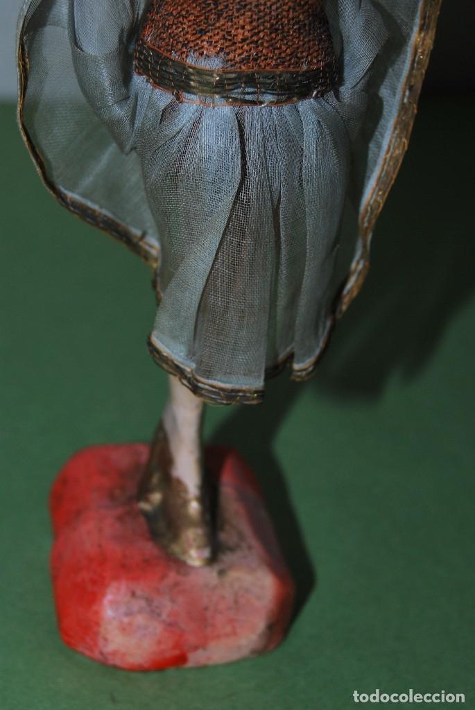 Muñeca española clasica: PRECIOSA MUÑECA DE CERA - BAILARINA - CABARET - AÑOS 20 - Foto 6 - 124607367