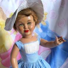 Muñeca española clasica: ESPLENDIDA MUÑECA ANTIGUA 1940-50 COETÁNEA MARIQUITA PEREZ, DOLL,PUPPE. Lote 125086419