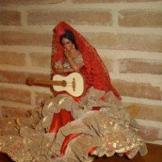Muñeca española clasica: MUÑECA SEVILLANA FABRICADA POR MARIN.32 CM.. Lote 156923946