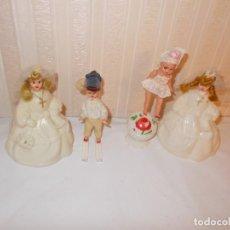 Muñeca española clasica: LOTE DE MUÑECAS CELULOIDE AÑOS 50. Lote 126169547