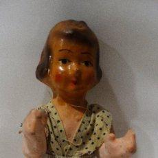 Muñeca española clasica: MUÑECA DE CARTÓN PIEDRA AÑOS 40.. Lote 126492207