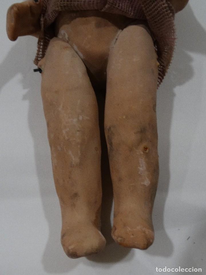 Muñeca española clasica: MUÑECA DE CARTÓN PIEDRA AÑOS 40. - Foto 4 - 126492207