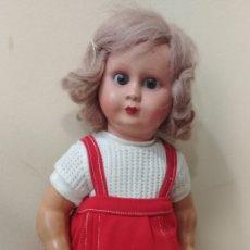 Muñeca española clasica: BONITA MUÑECA ANTIGUA AÑOS 40. Lote 126605107
