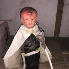Muñeca española clasica: MUÑECO SEMANA SANTA AÑOS 1940 HECHO A MANO. Lote 126875166