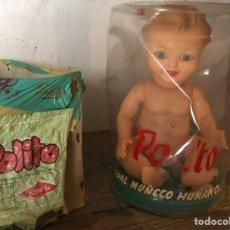 Muñeca española clasica: POLITO MUÑECO FAMOSA 1950 IMPRESIONANTE ESTADO NUEVO. Lote 126876016
