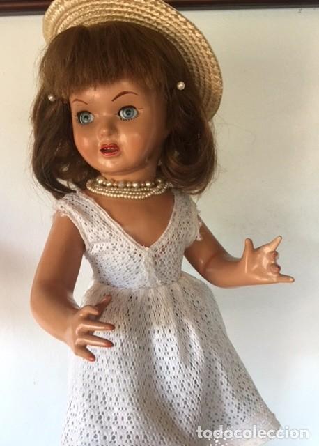 Muñeca española clasica: Preciosa muñeca VICKY de muñecas ViCTORIA de Jose Andres Vidal Onil años 50 carton piedra original - Foto 6 - 128094319