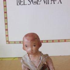 Muñeca española clasica: MUÑECA ANTIGUA CARTON PIEDRA. Lote 129134144