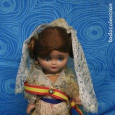 Muñeca española clasica: MUÑECA MUSICAL LINDA PIRULA. Lote 129392439