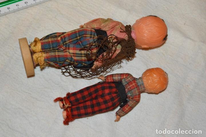 Muñeca española clasica: VINTAGE - LOTE DE 6 MUÑECAS ANTIGUAS DE CELULOIDE - OJOS DURMIENTES - AÑOS 50 / 60 - ENVÍO24H - Foto 3 - 129475059