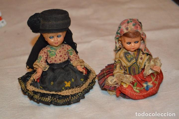 Muñeca española clasica: VINTAGE - LOTE DE 6 MUÑECAS ANTIGUAS DE CELULOIDE - OJOS DURMIENTES - AÑOS 50 / 60 - ENVÍO24H - Foto 5 - 129475059