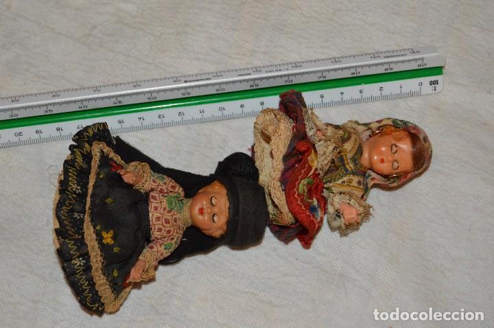 Muñeca española clasica: VINTAGE - LOTE DE 6 MUÑECAS ANTIGUAS DE CELULOIDE - OJOS DURMIENTES - AÑOS 50 / 60 - ENVÍO24H - Foto 10 - 129475059