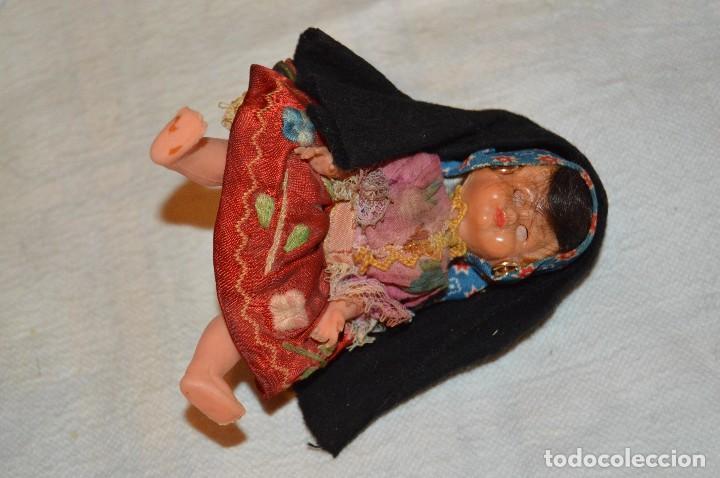 Muñeca española clasica: VINTAGE - LOTE DE 6 MUÑECAS ANTIGUAS DE CELULOIDE - OJOS DURMIENTES - AÑOS 50 / 60 - ENVÍO24H - Foto 11 - 129475059