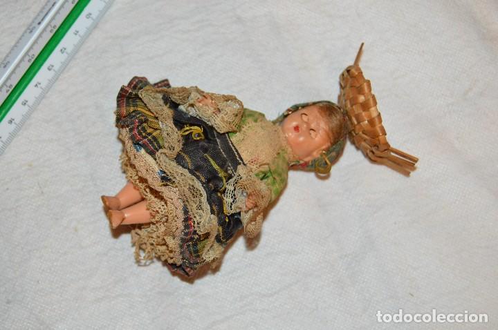 Muñeca española clasica: VINTAGE - LOTE DE 6 MUÑECAS ANTIGUAS DE CELULOIDE - OJOS DURMIENTES - AÑOS 50 / 60 - ENVÍO24H - Foto 16 - 129475059