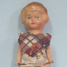 Muñeca española clasica: MUÑECA PEPONA CARTON PIEDRA. AÑOS 40. Lote 129661571