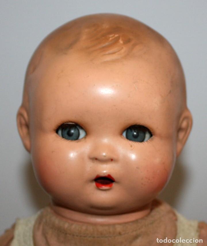 Muñeca española clasica: BEBE QUIQUE ?? DE CARTON PIEDRA. AÑOS 40-50 - Foto 6 - 129985719