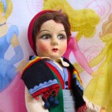 Muñeca española clasica: RARO MUÑECO REGIONAL LENCI,41CM - DOLL,POUPÉE, BAMBOLA. Lote 130053647