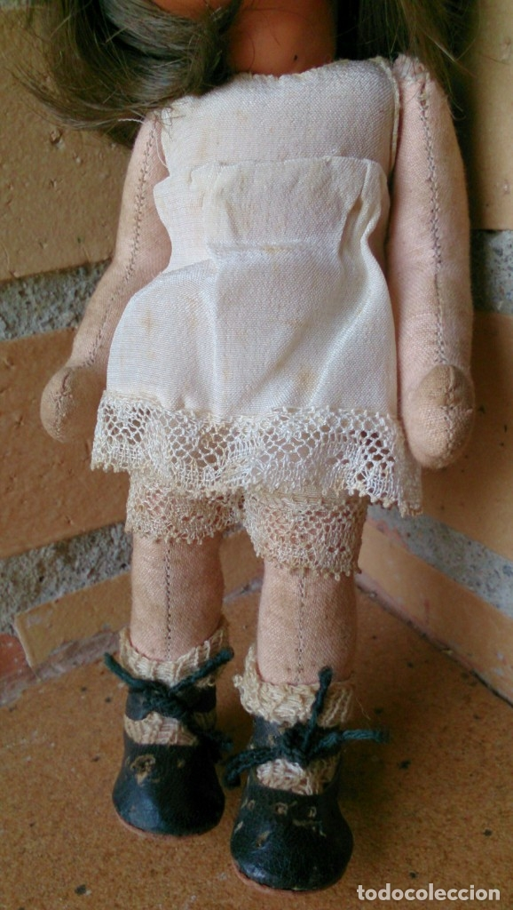 Muñeca española clasica: Muñeca Mari Pepitas míni Pepa Mendoza fabricada por Gros años 40 - Foto 5 - 130161427