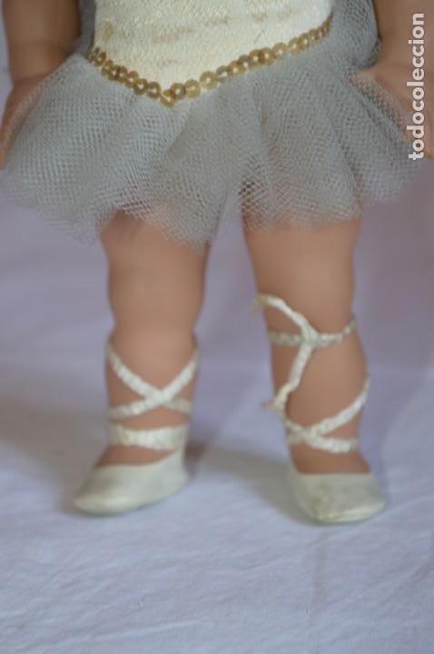 Muñeca española clasica: Linda Pirula bailarina. Años 50/60. Muñecas de Alba. Fabricada en España. romanjuguetesymas. - Foto 6 - 130500866