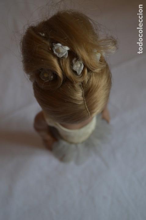 Muñeca española clasica: Linda Pirula bailarina. Años 50/60. Muñecas de Alba. Fabricada en España. romanjuguetesymas. - Foto 7 - 130500866