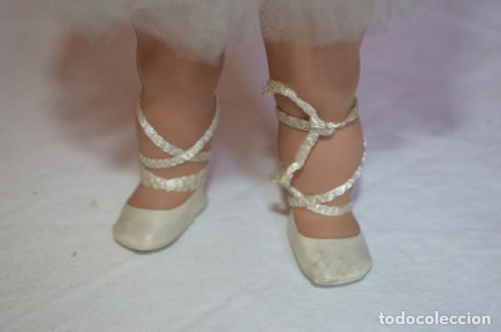 Muñeca española clasica: Linda Pirula bailarina. Años 50/60. Muñecas de Alba. Fabricada en España. romanjuguetesymas. - Foto 9 - 130500866