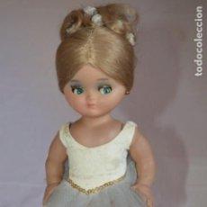 Muñeca española clasica: LINDA PIRULA BAILARINA. AÑOS 50/60. MUÑECAS DE ALBA. FABRICADA EN ESPAÑA. ROMANJUGUETESYMAS.. Lote 130500866