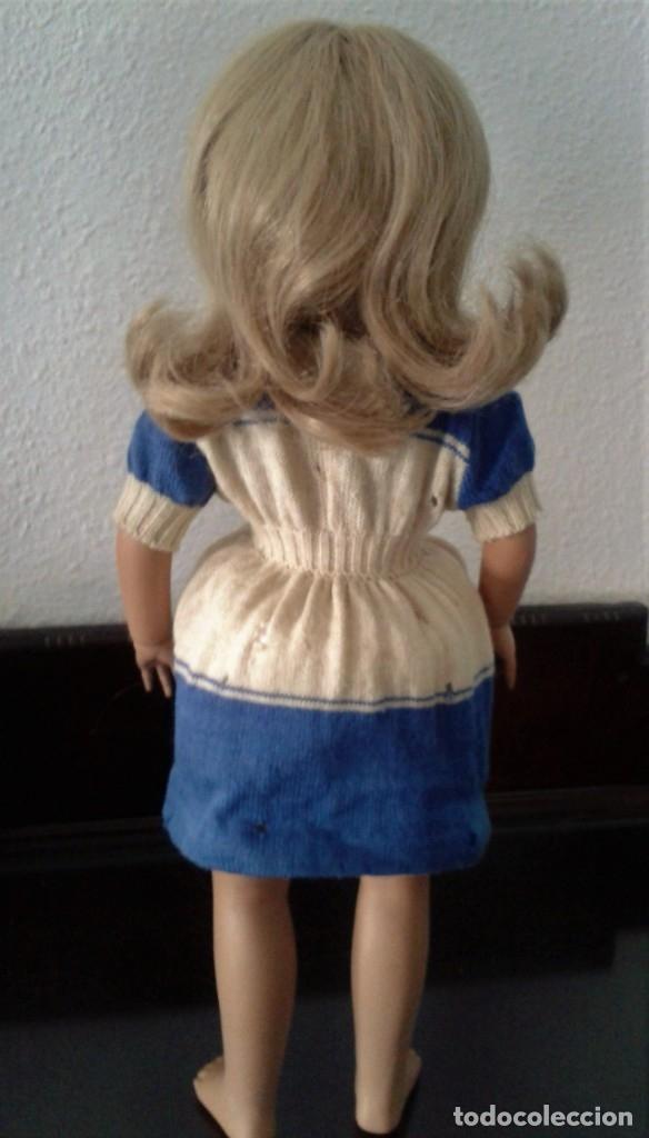 Muñeca española clasica: PRECIOSA MUÑECA TERESIN ,MARCADA EN LA NUCA ,MODELO DE MANOS ARTICULADAS Y OJOS FILTRY ,AÑOS 50 - Foto 5 - 131301579