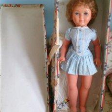 Muñeca española clasica: MUÑECA NOVO GAMA AÑOS 60 MARIE CLAIRE , EN ANTIGUA CAJA DE PIROSKA. Lote 131578354