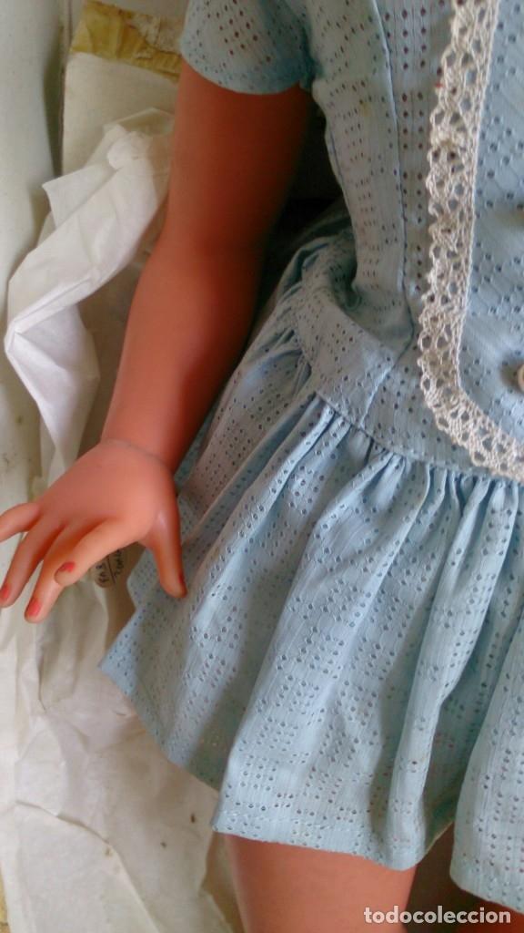 Muñeca española clasica: Muñeca Novo Gama años 60 Marie Claire , en antigua caja de Piroska - Foto 3 - 131578354