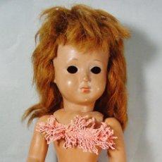 Muñeca española clasica: MUÑECA LINDA HAWAIANA EN CELULOIDE. ICSA. AÑOS 50. TIENE LOS OJOS SUELTOS DENTRO. RESTO OK. . Lote 131904442